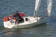 a sailing lesson on a sailing yacht